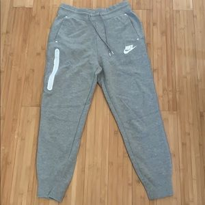 NIKE Grey Zip Detail Sweatpants